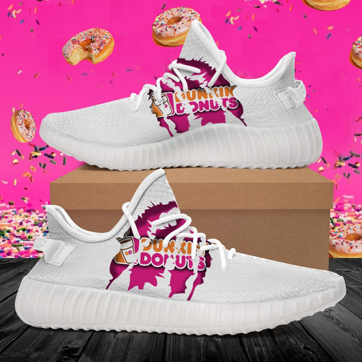 Dunkin Donuts M255 Boost Shoes All Over